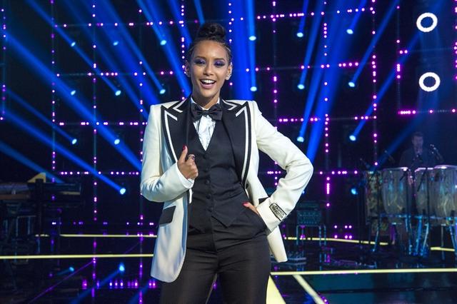 A apresentadora Taís Araújo no PopStar (Foto: Globo/Estevam Avellar)
