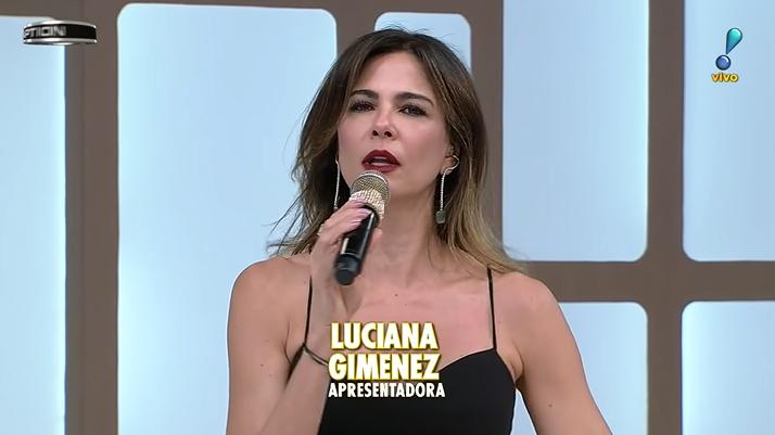 A apresentadora Luciana Gimenez. (Foto: Reprodução)