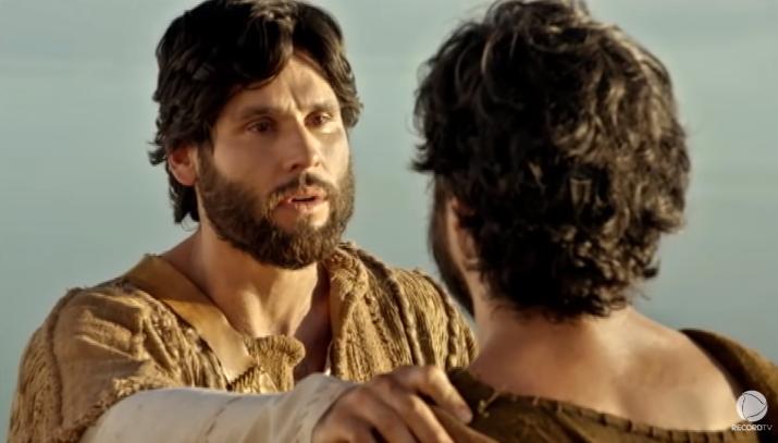 Dudu Azevedo é o protagonista da novela Jesus. (Foto: Reprodução)