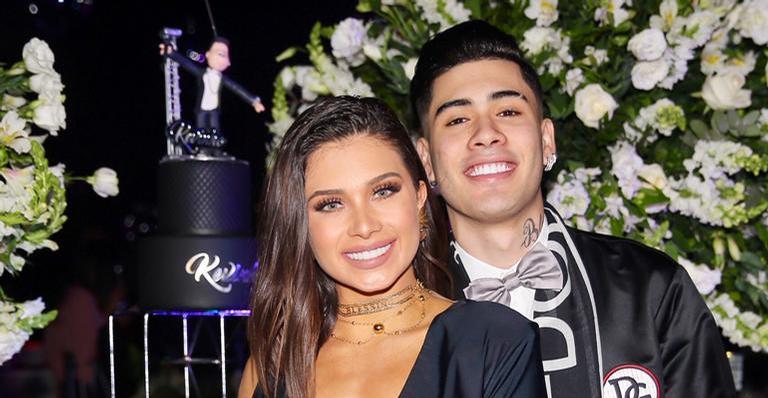 Kevinho e Flávia Pavanelli reataram o namoro recentemente (Foto: Reprodução)