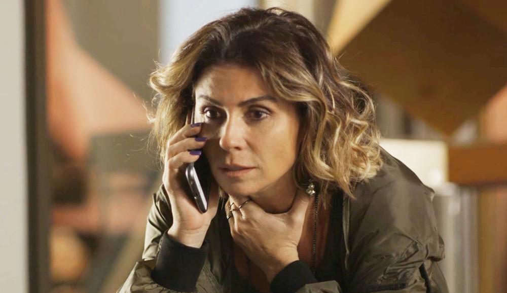"""Luzia se desesperará ao saber que sua """"filha"""" corre risco de vida por causa de Laureta (Foto: Divulgação)"""