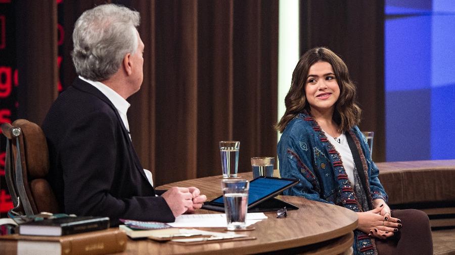 Maisa Silva Silva no Conversa com Bial (Foto: Divulgação/TV Globo)