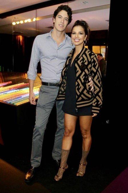 Mariana Rios e o novo namorado, Lucas (Foto: Reprodução)