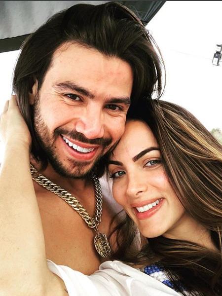 Mariano e Carla Prata<br /> (Foto: Reprodução/Instagram)