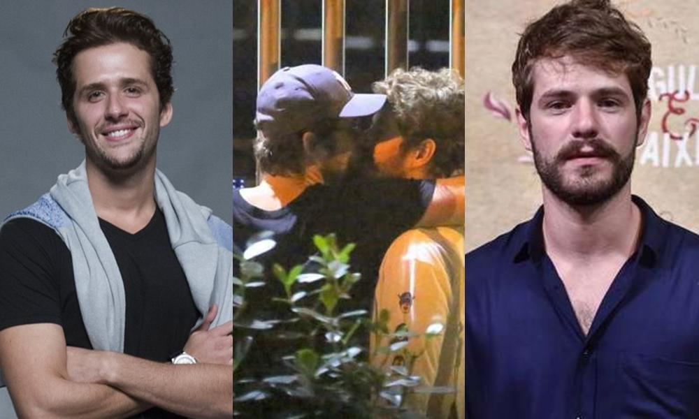 Casal de atores, Maurício Destri e Gil Coelho, inclusive, já foram vistos aos beijos. (Foto: AgNews)