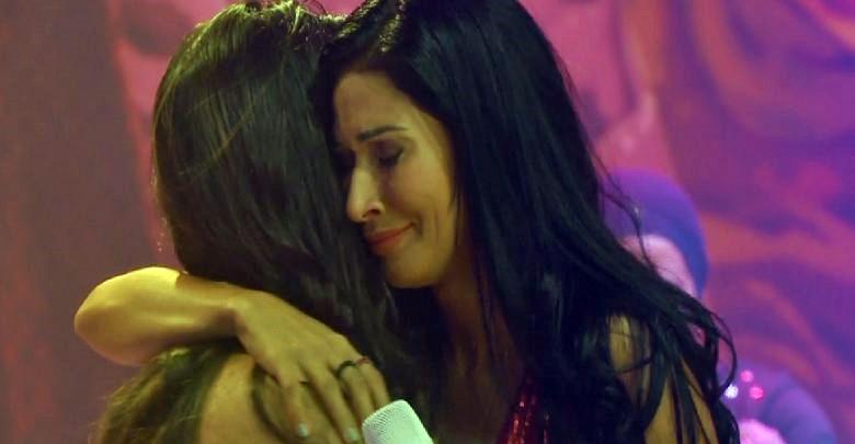 Simone e Simaria se emocionaram (Foto: Reprodução)