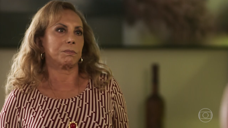 Naná (Arlete Salles) em cena de Segundo Sol (Foto: Reprodução/Globo)