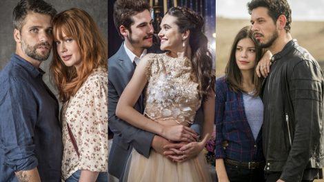 Globo tem mudado foco de suas novelas (Foto: Divulgação/Globo/Montagem/TV Foco)
