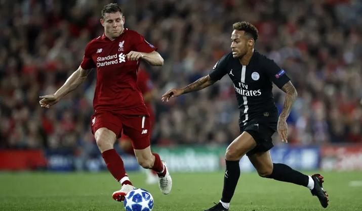 Liverpool x PSG foi destaque de audiência na TNT. (Foto: Divulgação)