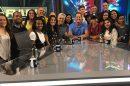 Equipe do Fox Sports Radio, líder de audiência do Fox Sports. (Foto: Reprodução/Instagram)