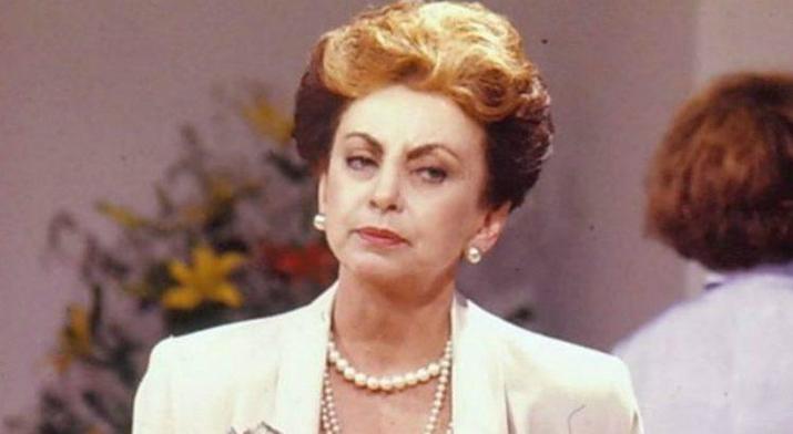 Beatriz Segall como Odete Roitman em Vale Tudo. (Foto: Reprodução)