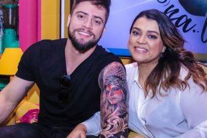 Preta Gil e seu marido Rodrigo Godoy (Foto: Reprodução/Instagram)