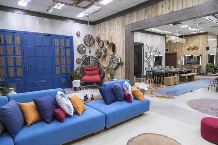 Parte interna da casa após reforma (Foto: Edu Moraes/Record)