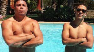 Ronaldo Fenômeno e Ronald (Foto: Reprodução)