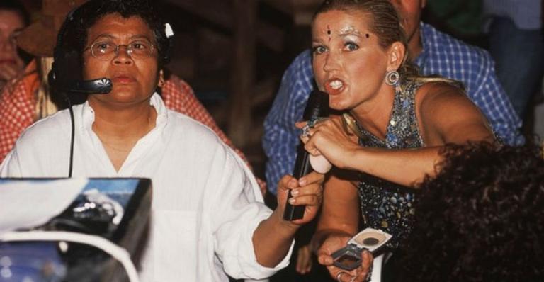 Marlene Mattos e Xuxa (Foto: Reprodução)