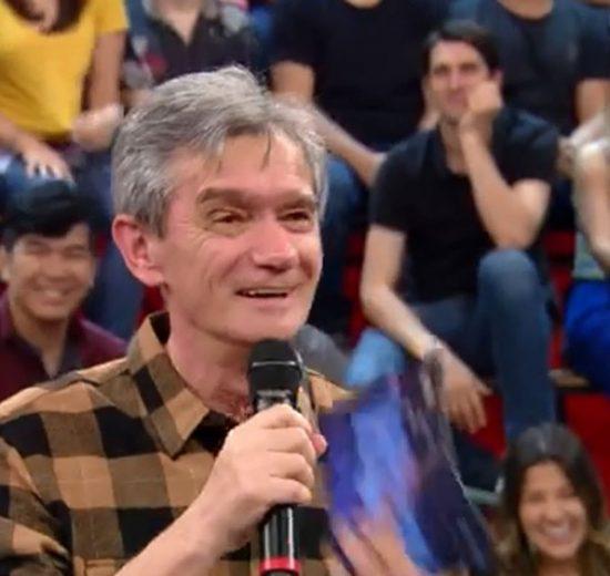 Serginho Groisman no Altas Horas (Foto: Reprodução/Globo)
