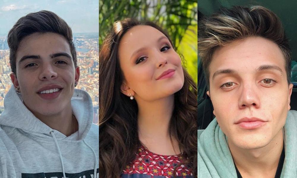 3bd55089f9ea4 Ex-namorado, Thomaz Costa comenta foto de Larissa Manoela, faz revelação e  passa vergonha na web – TV Foco