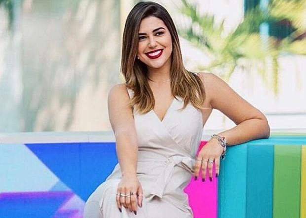 Vivian Amorim é apresentadora do Vídeo Show (Foto: Reprodução/Instagram)