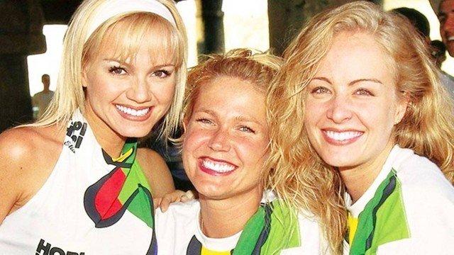 Angélica, Xuxa e Eliana, ex-apresentadoras infantis (Foto: Divulgação)looo
