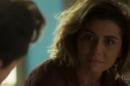 Luzia (Giovanna Antonelli) reencontra Valentim(Danilo Mesquita) emSegundo Sol (Foto: Reprodução/Globo)