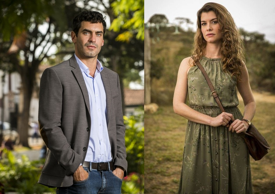 Marcelo e Isabel em Espelho da Vida (Foto: João Miguel Jr/ Globo)