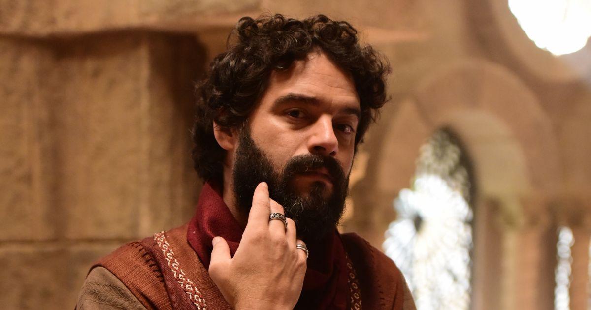 Guilherme Winter em Jesus (Foto: Divulgação/ Blad Meneghel/ Record)
