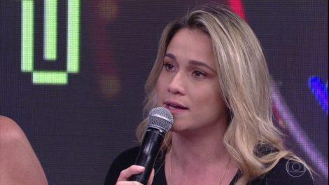 Fernanda Gentil na Globo (Foto: Reprodução)