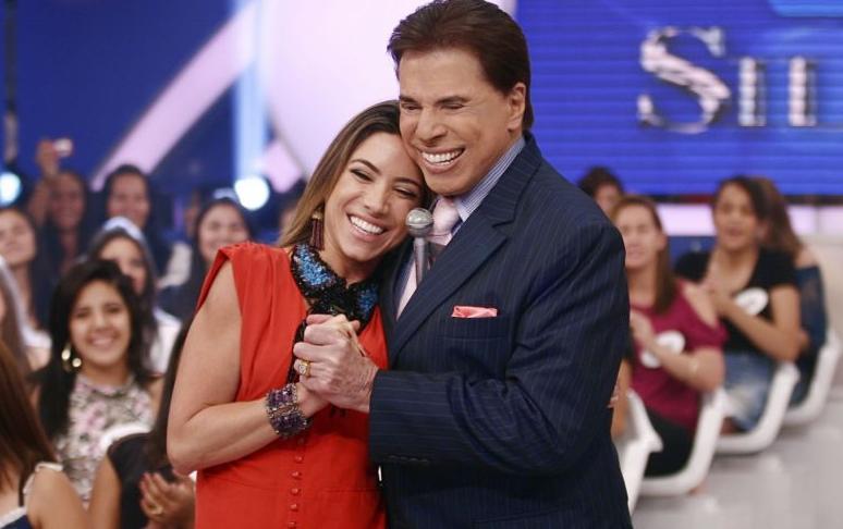 Patricia Abravanel e Silvio Santos (Foto: Reprodução)
