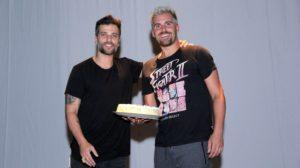 Bruno Gagliasso e o irmão, Thiago Gagliasso (Foto: Divulgação)