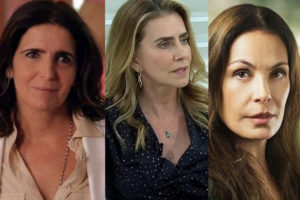 Malu Mader, Matiê Proença e Carolina Ferraz (Foto: Reprodução)