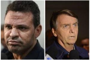 Eduardo Costa e Jair Bolsonaro (Foto: Reprodução / Motagem: TV FOCO)