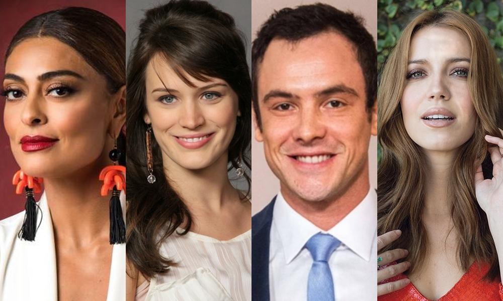 Elenco da nova novela de Walcyr Carrasco no horário nobre da Globo. (Foto: Reprodução)