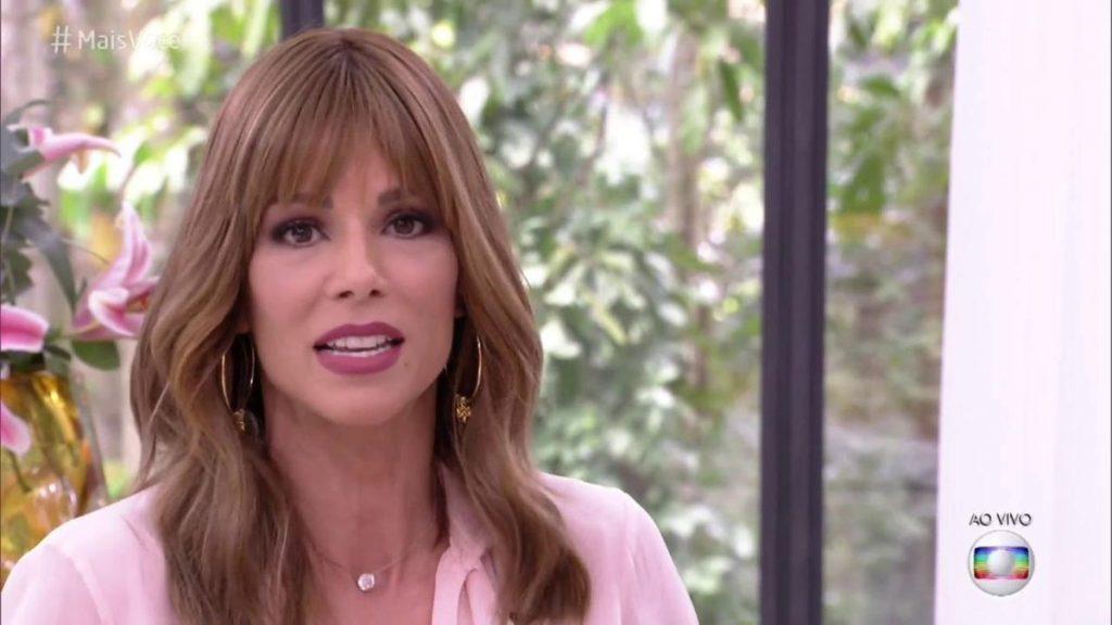 Ana Furtado no Mais Você, da Globo (Foto: Reprodução)