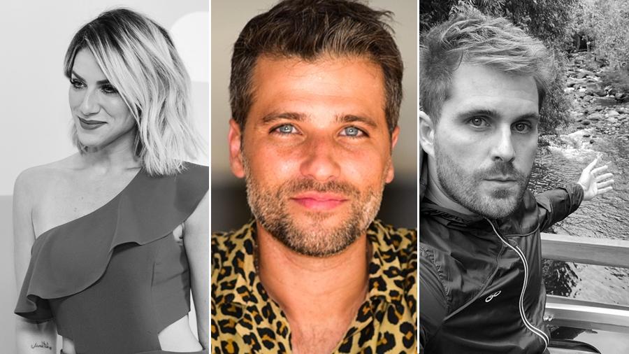 Giovanna Ewbank, Bruno Gagliasso e Thiago Gagliasso (Foto: Reprodução)