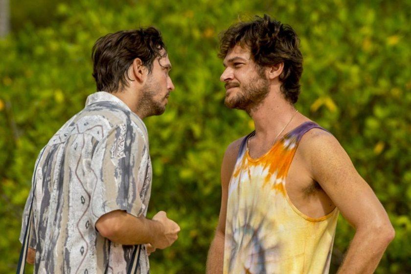 Remy e Beto Falcão em cena de Segundo Sol (Foto: Reprodução)