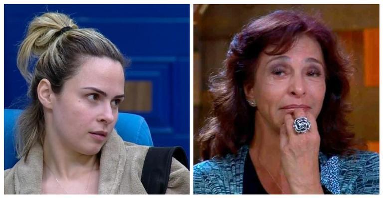 Ana Paula Renault e Vida Vlatt da Fazenda (Foto: Reprodução/ Record)