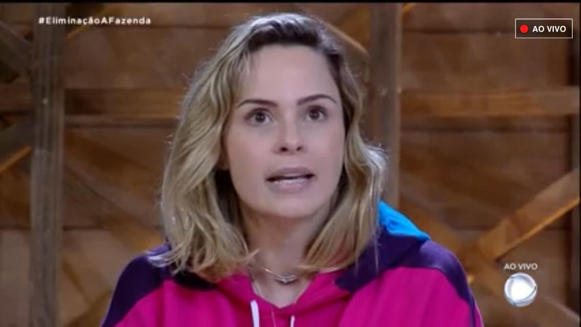 Ana Paula deixou A Fazenda causando (Foto: Reprodução)