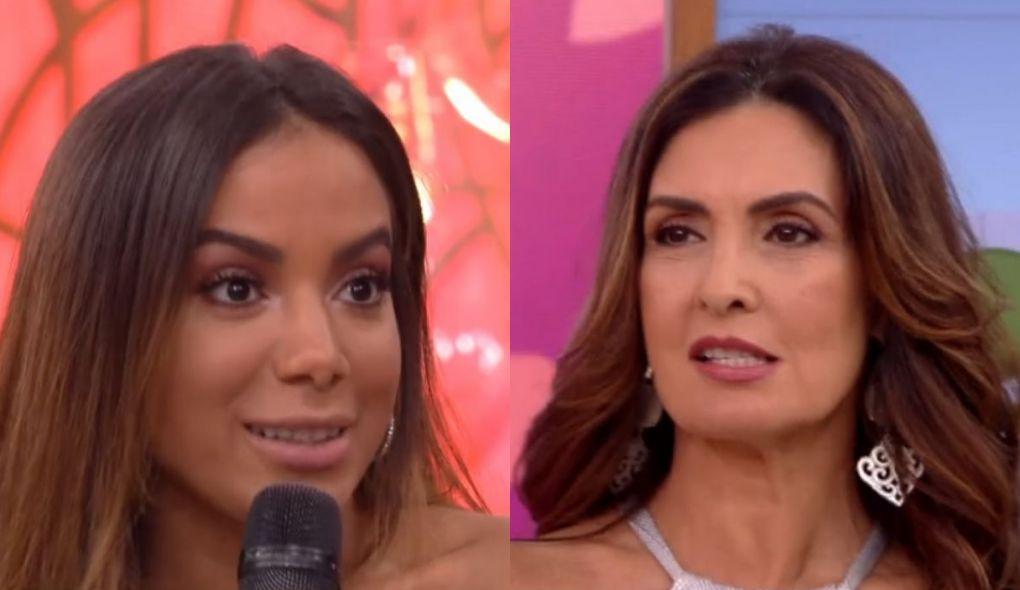 Anitta e Fátima Bernardes (Foto: Reprodução)