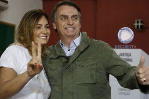 Michelle e Jair Bolsonaro (Foto: Divulgação/Montagem/TV Foco)