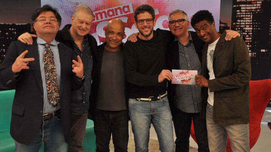 Casseta e Planeta deve retornar à TV em 2019 pela RedeTV. (Foto: Arquivo Pessoal/Divulgação)