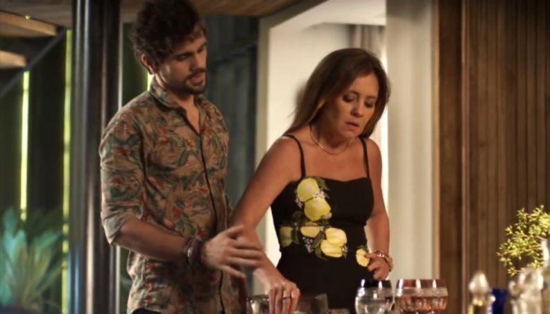 Du Love será vítima de Laureta em Segundo Sol (Foto: Reprodução)