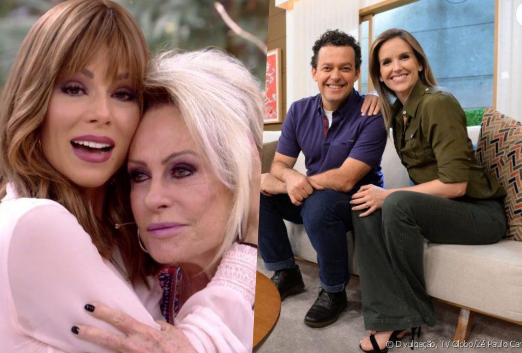Mais Você de Ana Maria Braga e Bem Estar fizeram dobradinha na Globo (Foto reprodução)
