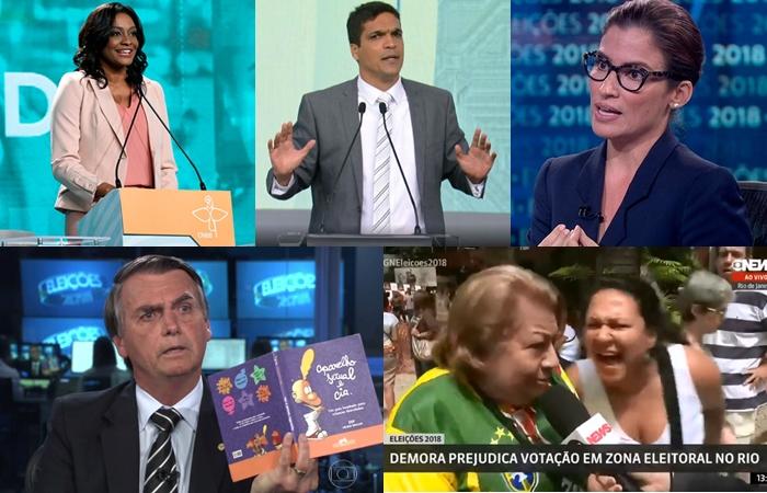 Eleições 2018 tem momentos marcantes na TV brasileira (Foto: Divulgação/Emissoras/Montagem/TV Foco)