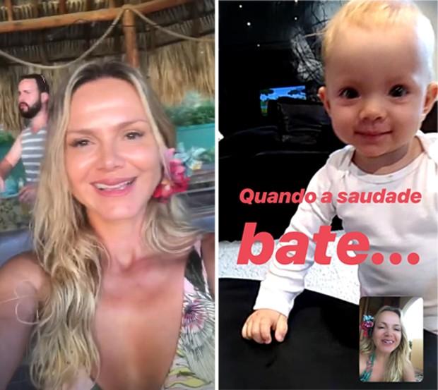 Eliana e Manuela (Foto: Reprodução/Instagram)