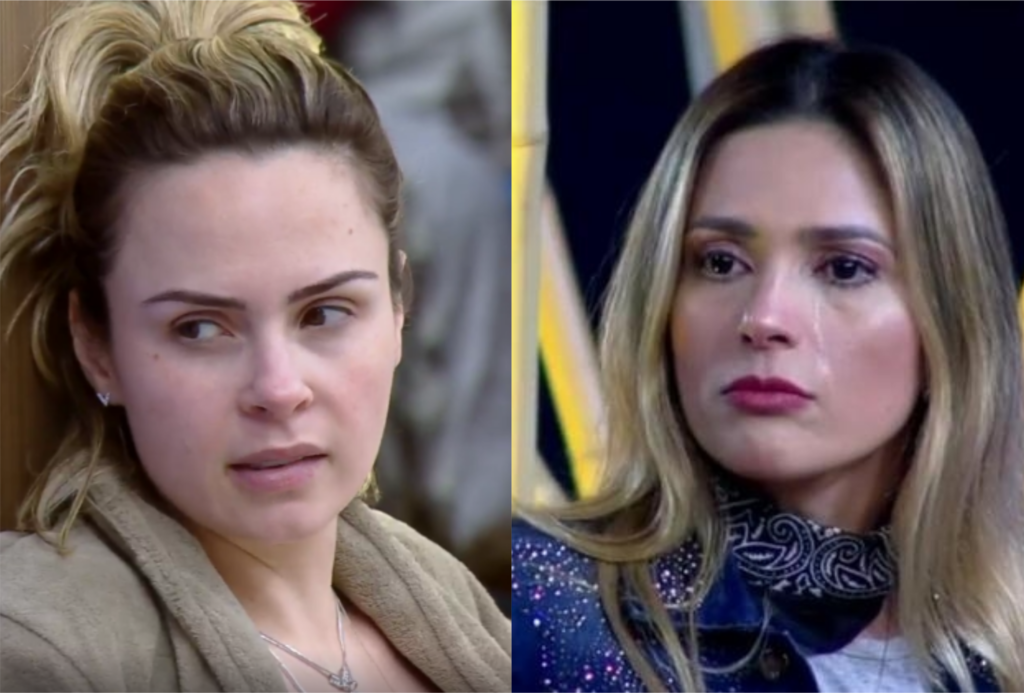 Ana Paula Renault e Nadja Pessoa estavam disputando a roça na Fazenda 10