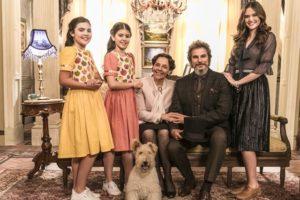 A família Sabino Machado em O Tempo Não Para (Foto: Globo/João Miguel Júnior)