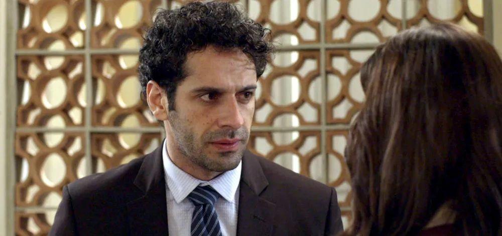 Emilio em cena de O Tempo Não Para (Foto: Divulgação)