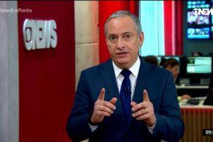 O jornalista José Roberto Burnier (Foto: Reprodução/Globo)
