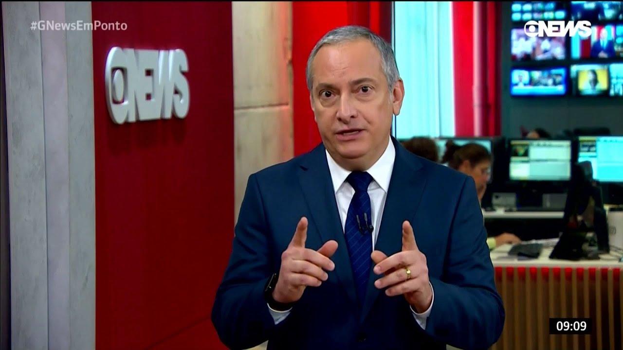 O jornalista José Roberto Burnier, apresentador do Central das Eleições (Foto: Reprodução/Globo)