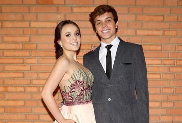 Larissa Manoela e Leo Cidade (Foto: Divulgação)
